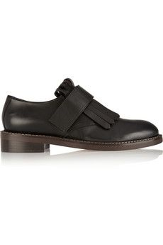Marni Leather brogues   THE OUTNET