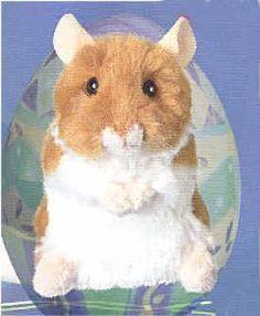 Plush Brushy Hamster