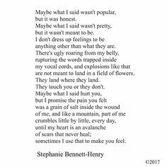 #stephaniebennetthenry ______________________________________ •facebook.com/PoetryofSL •twitter: poetryofsl •tumblr: slwords ~~~~~~~~~~~~~~~~~~~~~~~~~~~~~~ #poem #poetry #instapoet #poetsofig #writers #writersofig #potd #instalove #instadaily #wordgasm #writing #love #life #quote #instaquote #creativewriting #spilledink #me #wordgasm #writerscommunity #wordporn #ragingrhetoric #qotd #slwriting #poetryofsl #thursday #january