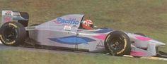 Pacific Racing! Isso mesmo, da Pacific, que comprei em 1994 porque era fã do Paul Belmondo, esse da foto. Comprei em Spa.