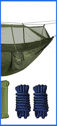 View this Hammock Choosing Guide for an useful snapshot of the subtle differences in between . Camping Hammock, Hammocks, Outdoor Camping, Hammock With Mosquito Net, Sources Of Stress, Camping Needs, Camping Equipment, Travel Abroad, Camping Hacks