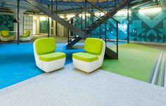 Grillska College in Stockholm is a special installation for Bolon. Architect office Codesign worked on a small budget for the client Stadsmissonen, a Swedish community. Bolon Flooring, Education College, Stockholm Sweden, Floor Chair, Projects, Log Projects