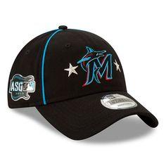 super popular 60e75 3c74d Men s Miami Marlins New Era Black 2019 MLB All-Star Game 9TWENTY Adjustable  Hat,