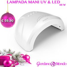 LAMPADA MANI UV E LED 48 WATT Professionale a soli € 59,90 PER INFO & ACQUISTI: TEL:0817747223 Whatsapp:3913235388 WEB: www.giordanonelmondo.com #giordanonelmondo