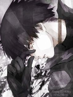 Urie Kuki - Tokyo Ghoul:re - Anime Tokyo Ghoul Tumblr, Tokyo Ghoul Fan Art, Ken Kaneki Tokyo Ghoul, Anime Boy Art, Boys Anime, Fanart Manga, Manga Art, Anime Style, Male Character