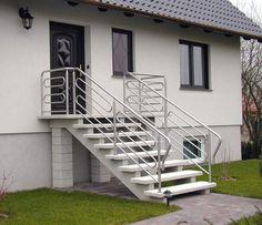 Betonowe stopnie oraz schody w bogatej gamie kolorystycznej