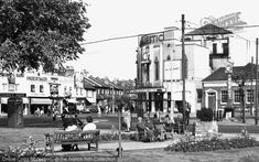 Mitcham, Fair Green Part of The Francis Frith Collection of historic photographs of Britain. Free to browse online today. Your nostalgic journey has begun. Old London, West London, Croydon, Local History, Surrey, Britain, Cinema, Street View, Ancestry