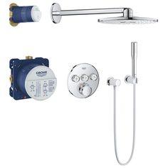 Grohe Grohtherm SmartControl Duschsystem UP mit Rainshower 310 SmartActive 34705000 - MEGABAD
