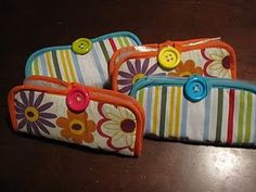 Emergency car care kit - we made these for a craft Saturday one year in relief society, they are so cute and handy!! -ht