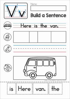Phonics Letter of the Week BUNDLE 6 by Lavinia Pop | TpT English Worksheets For Kindergarten, Beginning Of Kindergarten, Kindergarten Lessons, Kindergarten Writing, Teaching Writing, Cvc Worksheets, Handwriting Worksheets, Handwriting Practice, First Grade Curriculum