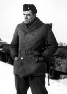 Louis L'Amour. US Army, World War II. Novelist.