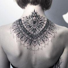 Intricate Mandala http://tattooideas247.com/intricate-mandala/