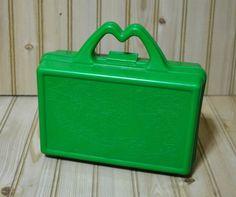 Vintage McDonald's Lunch Box  Green by VintageSmurfsandMore