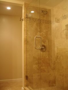 you talked about a coated glass shower door that is easier to keep clean another
