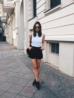 More looks by Paulina Stepowska: http://lb.nu/alwaysbroke_  #minimal #sporty #street