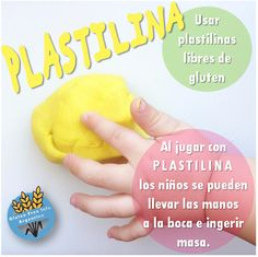 Plastilina Gluten Free