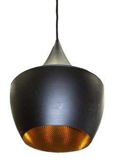 Matt Blatt Tom Dixon Beat Shade Fat Lamp (White or Black) H35 x 25 cm cord length max 150 cm $130