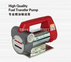 Heavy Duty Oil Pump and Fuel Transfer Extractor Pump 24v