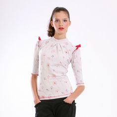 20ec86bdcb6 tričko volán šedé - SLEVA!   Zboží prodejce MAYDA fashion