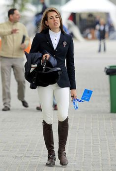 Charlotte Casiraghi at the Global Champions Tour