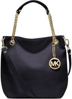 Love this bag, goes with any outfit! shopstyle.com: MICHAEL Michael Kors Handbag, Jet Set Medium Shoulder Tote