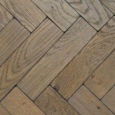 Silvered vintage oak parquet wood flooring, £74.40 per sq m, Broadleaf Read more at http://www.housetohome.co.uk/product-idea/picture/wood-flooring-10-of-the-best-1#PP7IZxJGJZDeUGKC.99