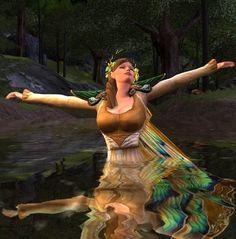Cosmetic Lotro - Water Spirit