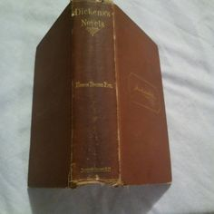 Check out this item in my Etsy shop https://www.etsy.com/listing/261993743/1871-first-edition-dickenss-novels-edwin