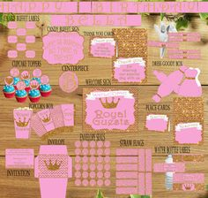 Hey, I found this really awesome Etsy listing at https://www.etsy.com/listing/248068467/printable-diy-pink-and-gold-party