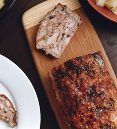 Turkey Meatloaf with Mushrooms and Herbs: Recipe: bonappetit.com