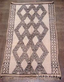 Beni Ouarain Tribal Rug