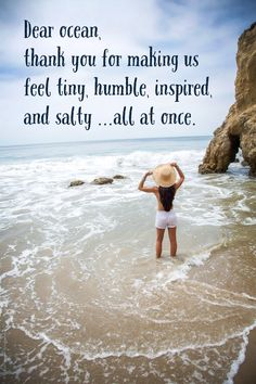 117 of the Best Beach Quotes (& Beach Photos) Wave Quotes, Ocean Quotes, Beach Quotes, Florida Quotes, Beach Memes, Island Quotes, Vacation Quotes, Hidden Beach, I Love The Beach