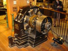 Tesla's Alternating Current Motor ~ Smithsonian Institution, Washington D.C.