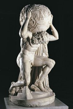 Fig. 3: Farnese Atlas (National Archaeological Museum, Naples, Italy)