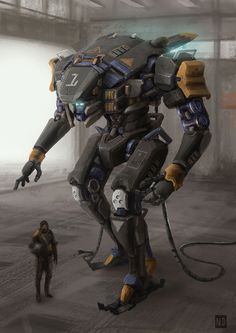 """aearchon: """"Mech-001 by AndyND """""""