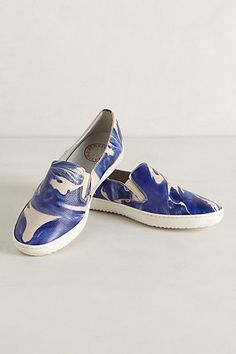 Distilled Sneakers #anthropologie Cool for spring w/ a dress