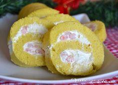 Rotolo salato con gamberetti e philadelphia ricetta un antipasto,aperitivo ideale per feste buffet e per la vigilia di Natale ed il giorno di Natale