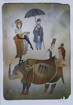 Adolf Born - Maler, Grafiker, Illustrator, Toulouse Lautrec