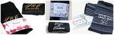 Blog de los detalles de tu boda   Calcetines de novio personalizados  Puedes encontrarlos en http://losdetallesdetuboda.com/calcetines-para-novios-43
