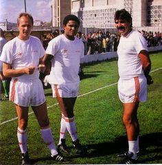 Erikson, Eusébio e Toni