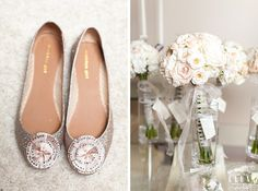Brides amazing shoes and bouquet! Got Married, Getting Married, Our Wedding, Brides, Bouquet, Wedding Inspiration, Amazing, Beautiful, Shoes