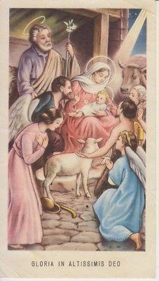 Santino Holy Card Image Pieuse Raro Egim Isonzo N 192 In Latino