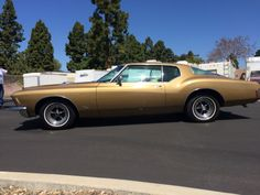 """customized 70s boattail buick 