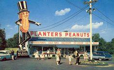 Planters Peanut Store, Peabody, Mass.