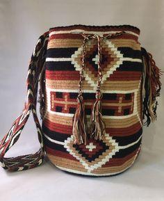 LA GUAJIRA DESERT WAYUU MOCHILA  Fair Trade   Free UPGRADED Shipping in USA