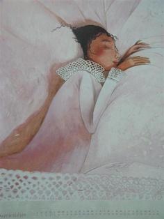 peaceful sleep....Rébecca Dautremer..