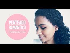Penteado Romântico -Trança Lateral Estilo Boho  - Manual dos Cachos | Cabelos cacheados, cuidados, produtos, dicas.