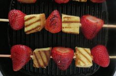 Grilled Strawberry Shortcake - BrokeAss Gourmet