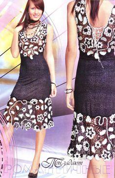 HÄKELN Muster floral Damen Mädchen Spitze Kleid von DupletMagazines