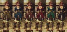Brigida Dress Colour Variations at Skyrim Nexus - mods and community